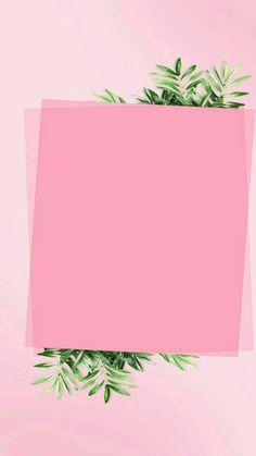 Framed Wallpaper, Flower Background Wallpaper, Flower Backgrounds, Wallpaper Backgrounds, Iphone Wallpaper, Pink Glitter Background, Blank Background, Blog Backgrounds, Background Ideas