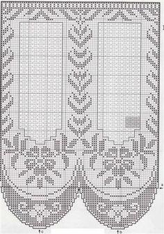 2016 Şemalı dantel perde örnekleri
