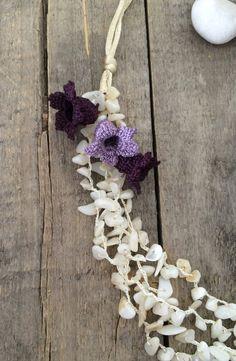 Crochet Statement Necklace Crochet Bridal Jewelry от ReddApple
