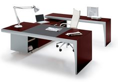 Our best-selling Executive Desk featuring 5-drawer compartments and a slide out keyboard!