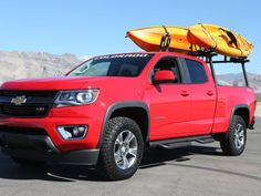 Check out the accessories you can add to the new Chevy Colorado!