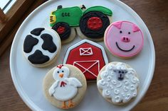 The Growing Gray Family: Wordless Wednesday - Two Cute Boys & Farm Cookies