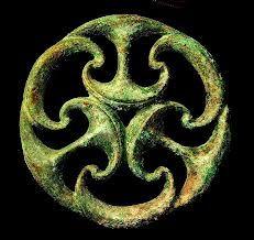 Celtic bronze/silver