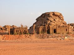 Egypt-9B-011 - Nubian style house,Nubian style house in the area. Temple of Amada, Lake Nasser, Egypt