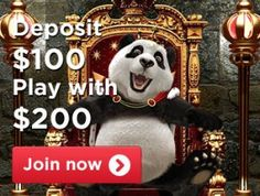 ROYAL PANDA CASINO - Claim up to $100 Welcome Bonus First Deposit - UK Casino List