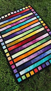 Quilt Matters: From Light to Dark And Back Again.  I love the stained glass effect of this quilt.