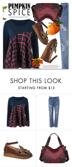 Pumpkin Spice Style by svijetlana on Polyvore featuring moda, polyvoreeditorial, pss and twinkledeals