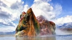 The World's Most Amazing Places: Fly Geyser - weather.com