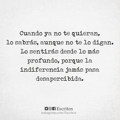 #frases #indiferencia