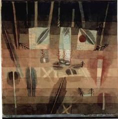 """Paul Klee 'Physiognomy of Planting' 10 x 10"""""""