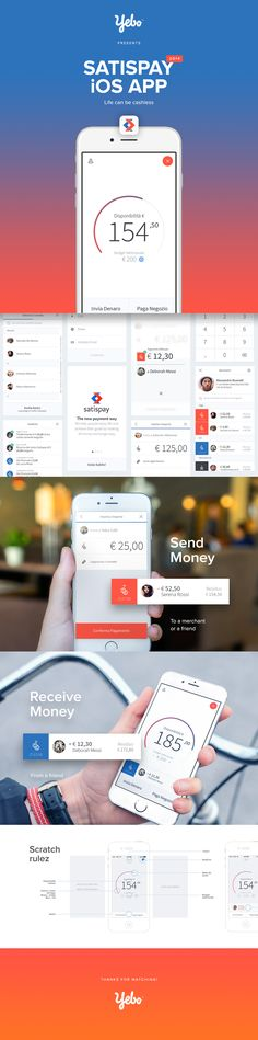 Satispay is an italian startup that aims to create a independent payment network. We have been called to design the iOS app