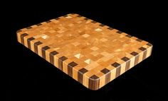 Cherry & Walnut End Grain Cutting Board