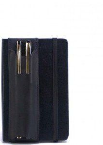 Reviews Double-Pen Quiver for Pocket Moleskine Hard-Cover (A6 size) Notebooks, Black The best prices online - http://topprintersink.com/reviews-double-pen-quiver-for-pocket-moleskine-hard-cover-a6-size-notebooks-black-the-best-prices-online