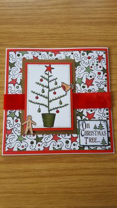 Check out this item in my Etsy shop https://www.etsy.com/uk/listing/480115325/handmade-christmas-card-christmas-tree