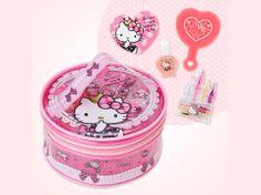 Hello Kitty Kids Cosmetic Set Princess Set Girls Christmas Gift SANRIO JAPAN
