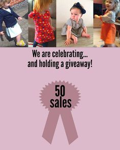 Kelakarclothing.etsy.com is celebrating 50 sales! Keep an eye out for more information about our giveaway for your chance to win a free piece of KelakarClothing.