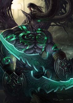 Illidan Stormrage by NOOSBORN on DeviantArt