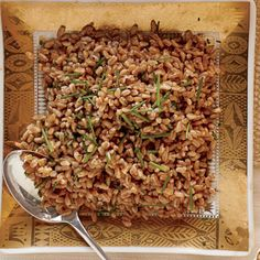 Perfectly Paired Holiday Sides: Browned-Butter Farro