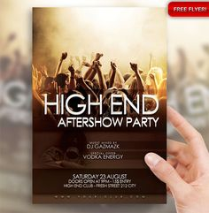 PSD Template - High End Aftershow Party Flyer/Poster