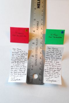Letter from Santa's Elf: tiny and by ArtToHeartCreations on Etsy