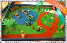 Пластилиновый мир №4: лес, озеро и лесные жители - Лепка из пластилина - Статьи - В гостях у Весны