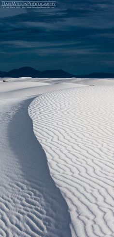 Rippled Ridge, White Sands National Park, New Mexico