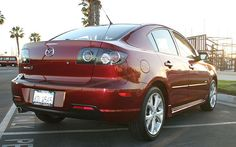Maddy the Mazda <3 Except mine's a 2006 and the tail lights have a red cover