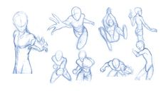 Pose Studies 8 - References from Robert Marzullo by BBstudies.deviantart.com on @DeviantArt