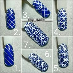 Nail Art Designs In Every Color And Style – Your Beautiful Nails Nail Art Diy, Diy Nails, Cute Nails, Fabulous Nails, Perfect Nails, Diy Ongles, Nail Art Techniques, Nagel Blog, Flower Nail Art