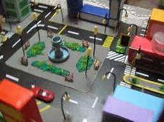 maquetas escolares de una ciudad con material reciclable - Buscar con Google