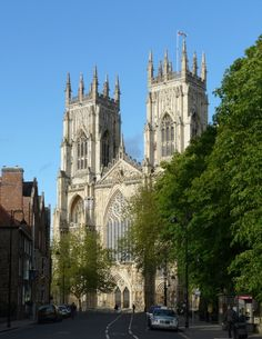 York Minster, one of the world's most beautiful cathedrals. Yorkshire Dales, Yorkshire England, North Yorkshire, Beautiful Places To Visit, Places To See, Places Ive Been, York Minster, Places Around The World, Around The Worlds
