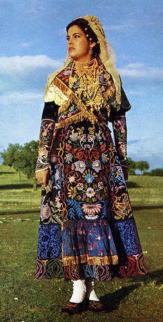 Charro costume, Salamanca, Spain.