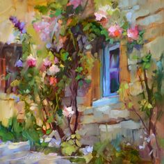 """""""In Love in France"""" Artist Dreama Tolle Perry"""