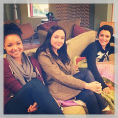 Cute! We can't wait to see these girls on #ChasingLife!