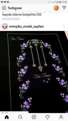Crochet Stitches, Embroidery Stitches, Hand Embroidery, Cross Stitch, Hair Accessories, Cross Stitch Embroidery, Bouquets, Lilac, Punto De Cruz