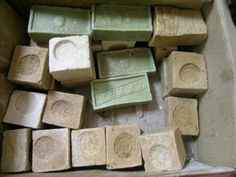 ~traditionally made olive oil soaps from Lesvos island -Greece~