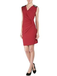 #embroidery #dress #sparkling #christmas #collection #red #fashion #moda #style