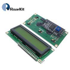 1 PCS LCD module écran jaune-vert IIC/I2C 1602 LCD pour arduino UNO r3 mega2560