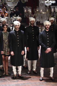 Sabyasachi Mukherjee Indian Couture is part of Groom dress men - Mens Indian Wear, Indian Groom Wear, Indian Men Fashion, Indian Bridal Fashion, Wedding Kurta For Men, Wedding Dresses Men Indian, Wedding Dress Men, Mens Sherwani, Sherwani Groom