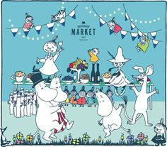 Moomin Valley, Cartoon Photo, Little My, Troll, Finland, Deco, Anime, Cartoons, Fictional Characters