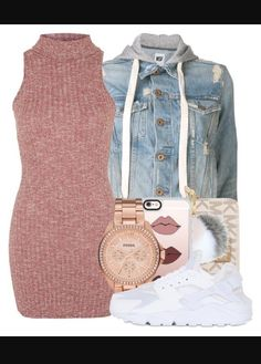 Nike Outfits – Page 5969278115 – Lady Dress Designs Cute Swag Outfits, Komplette Outfits, Teenage Outfits, Teen Fashion Outfits, Dope Outfits, Polyvore Outfits, Outfits For Teens, Trendy Outfits, Fall Outfits