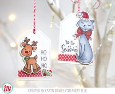 25 Days of Christmas Tags … Avery Elle!
