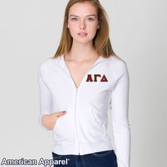 American Apparel for Alpha Gamma Delta Sorority