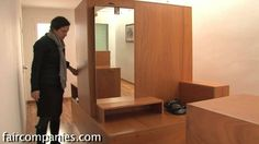Original story here: http://faircompanies.com/videos/view/house-in-a-suitcase-tiny-home-2-trunks-furniture/ In 1996, Barcelona architects Eva Prats and Ricar...