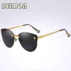 2017 Fashion Polarized Sunglasses Women Men Driver Brand Designer Sun Glasses Ladies For Male Female Driving UV400 Oculos RS136