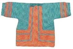 The front of the folded baby surprise jacket