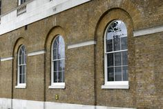 Beautiful, factory-finished single-glazed historic windows, using putty, for the Saatchi Gallery, from Wood Window Alliance member, Mumford & Wood.