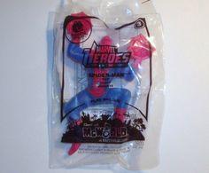 Marvel Heroes Spider-Man McDonalds Happy Meal Toy #3 New in Original Package