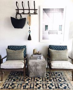 JLthis is cool  CL-Cassie, Jimmy and Lexy all love this. This is a great mix of comfortable/stylish and liveable. This is an anchor peice for our project i think. Loke the color scheme and love those chairs.  https://www.instagram.com/waltergtextiles/