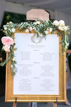 20 Unique Wedding Seating Chart Displays via Brit + Co